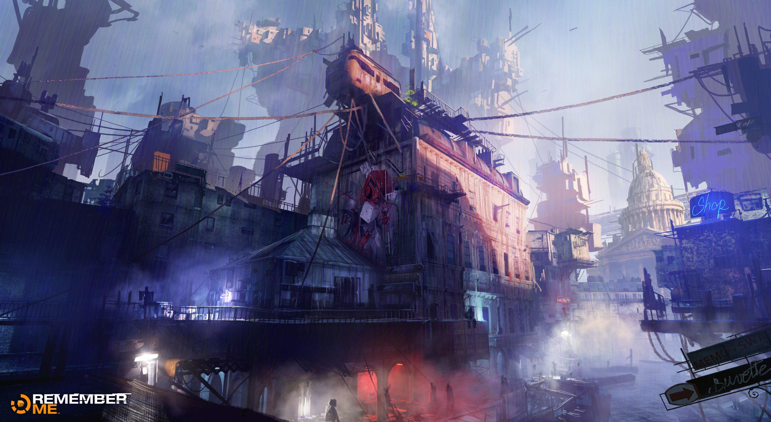Remember Me Action Adventure Sci Fi Futuristic 18