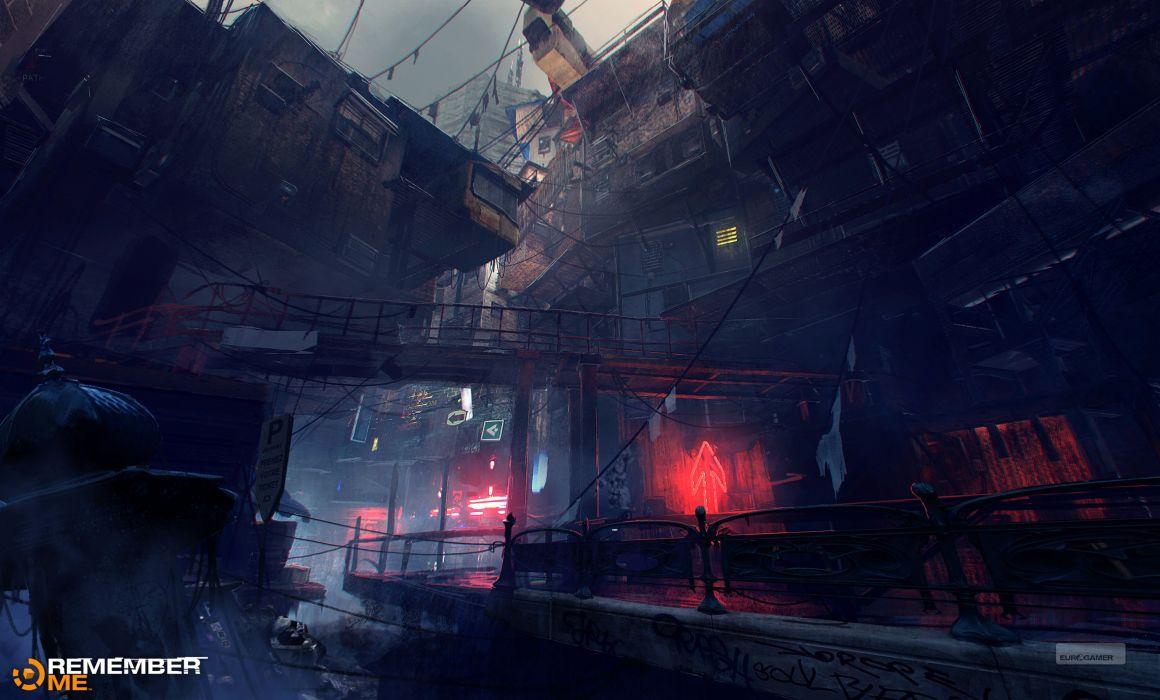 REMEMBER ME action adventure sci-fi futuristic (24) wallpaper
