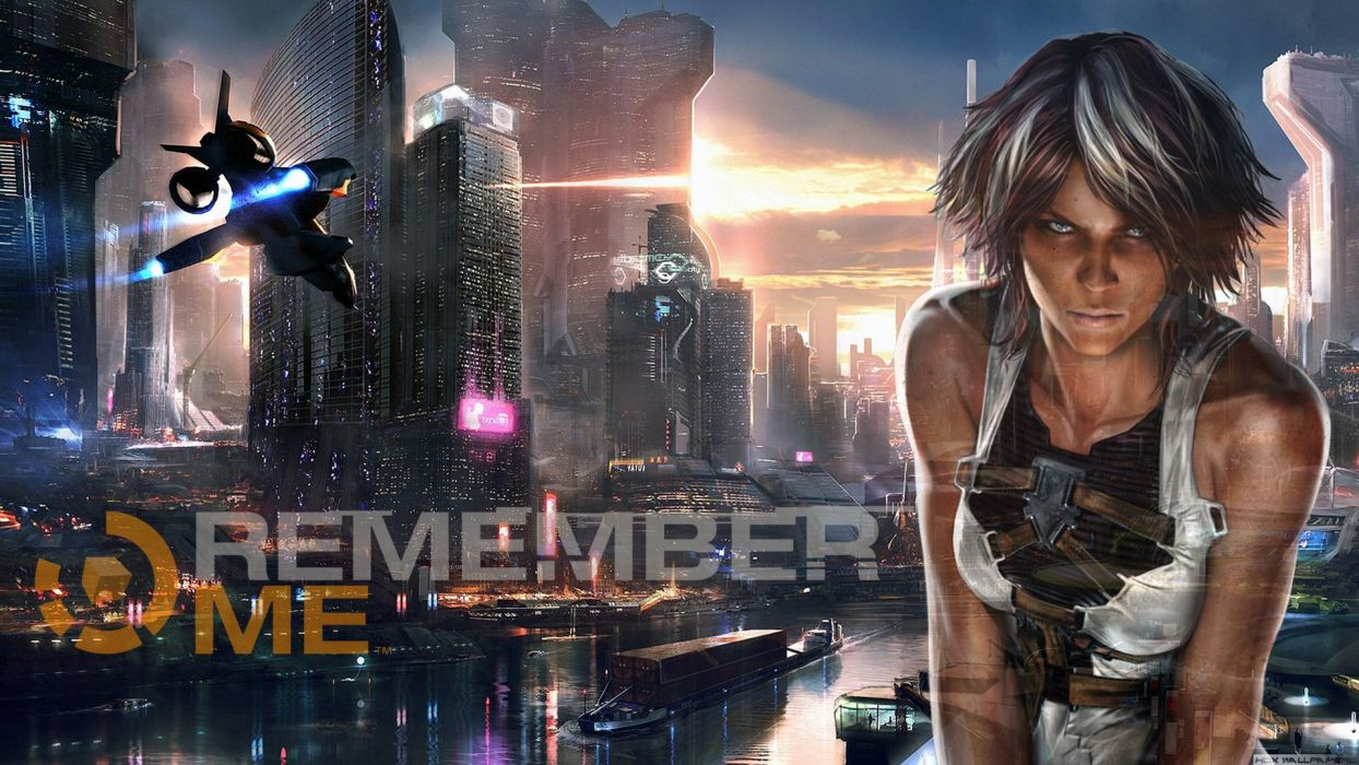 REMEMBER ME action adventure sci-fi futuristic (32) wallpaper