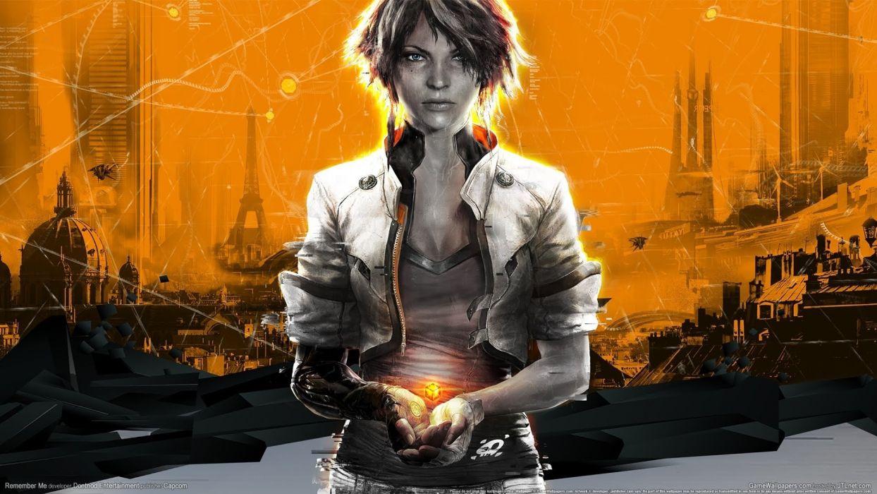 REMEMBER ME action adventure sci-fi futuristic (94) wallpaper