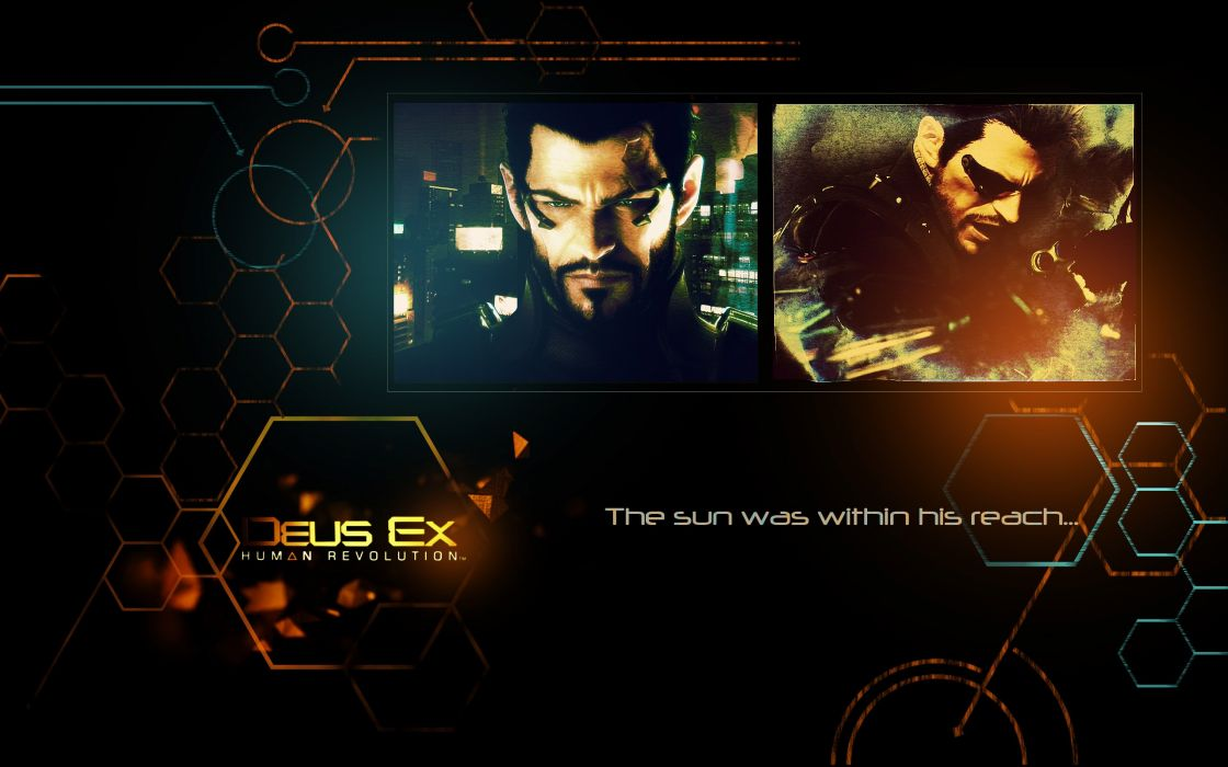DEUS EX Human Revolution cyberpunk action role playing sci-fi futuristic (8) wallpaper