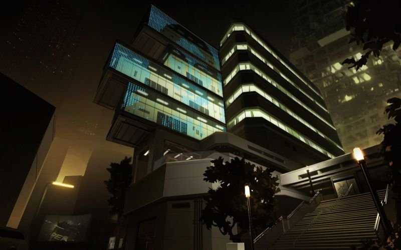 DEUS EX Human Revolution cyberpunk action role playing sci-fi futuristic (12) wallpaper