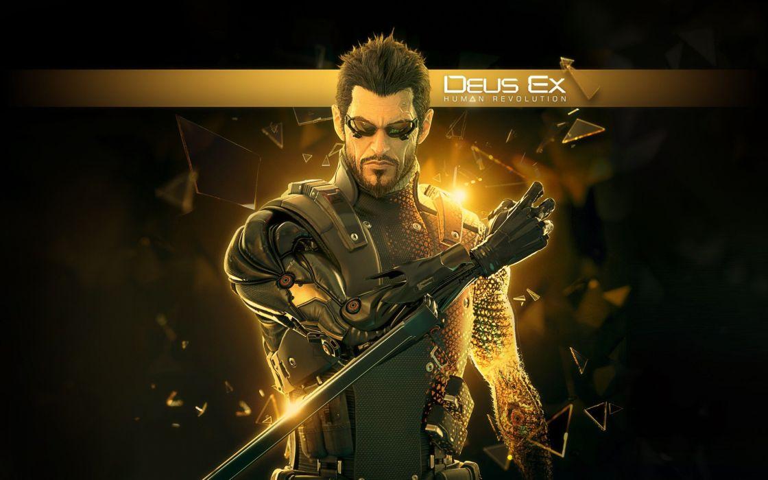 DEUS EX Human Revolution cyberpunk action role playing sci-fi futuristic (18) wallpaper
