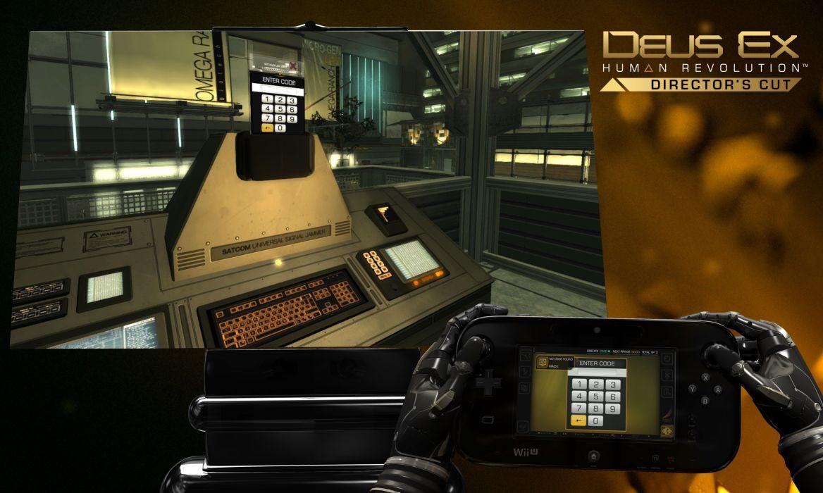 DEUS EX Human Revolution cyberpunk action role playing sci-fi futuristic (33) wallpaper
