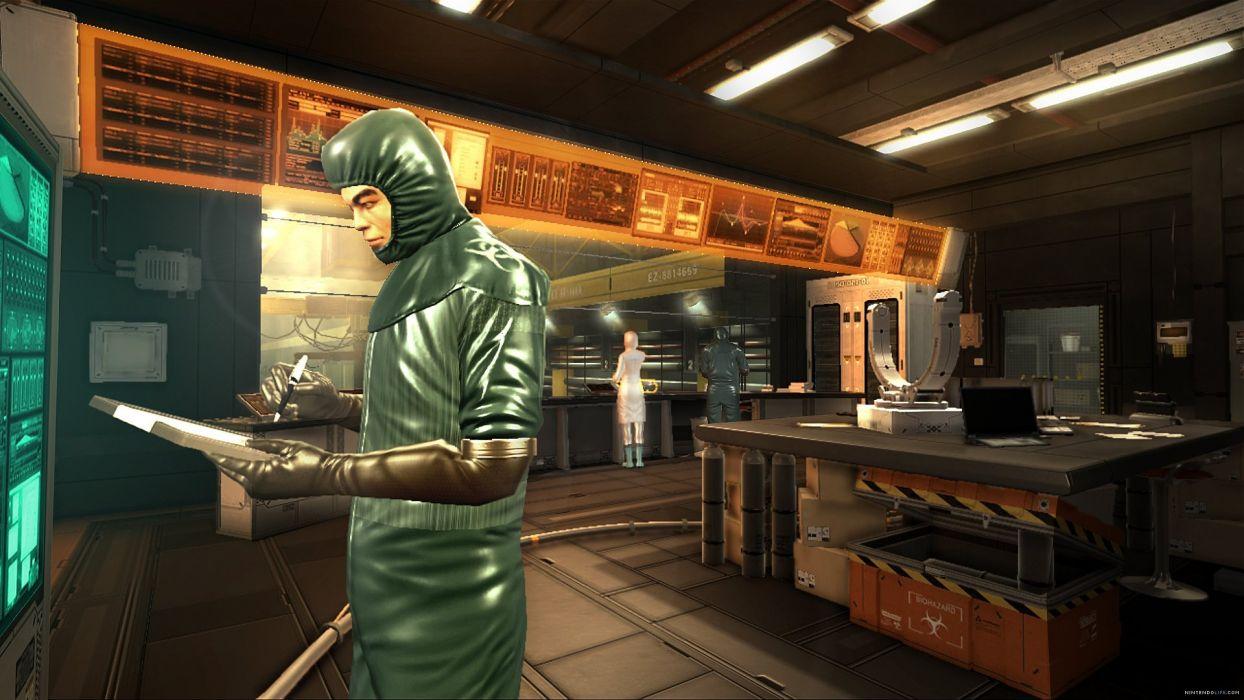 DEUS EX Human Revolution cyberpunk action role playing sci-fi futuristic (65) wallpaper