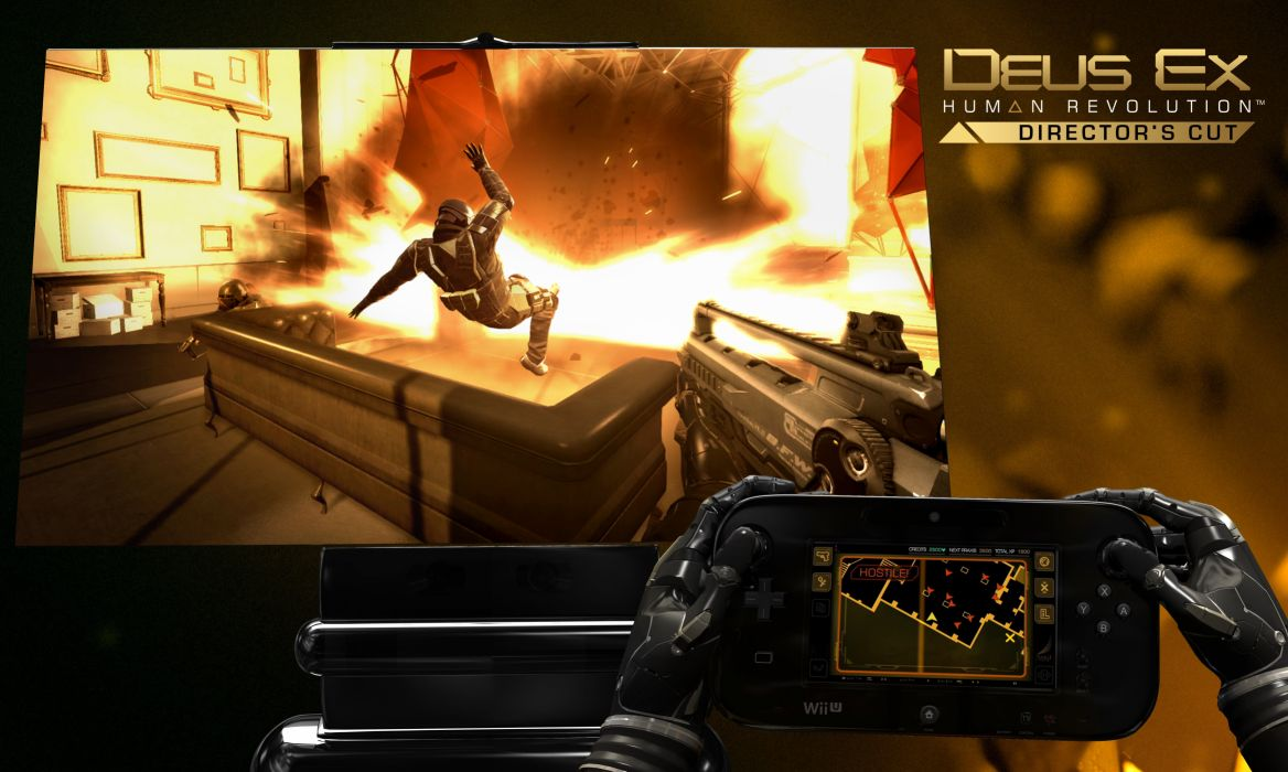DEUS EX Human Revolution cyberpunk action role playing sci-fi futuristic (59) wallpaper