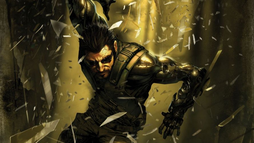 DEUS EX Human Revolution cyberpunk action role playing sci-fi futuristic (72) wallpaper