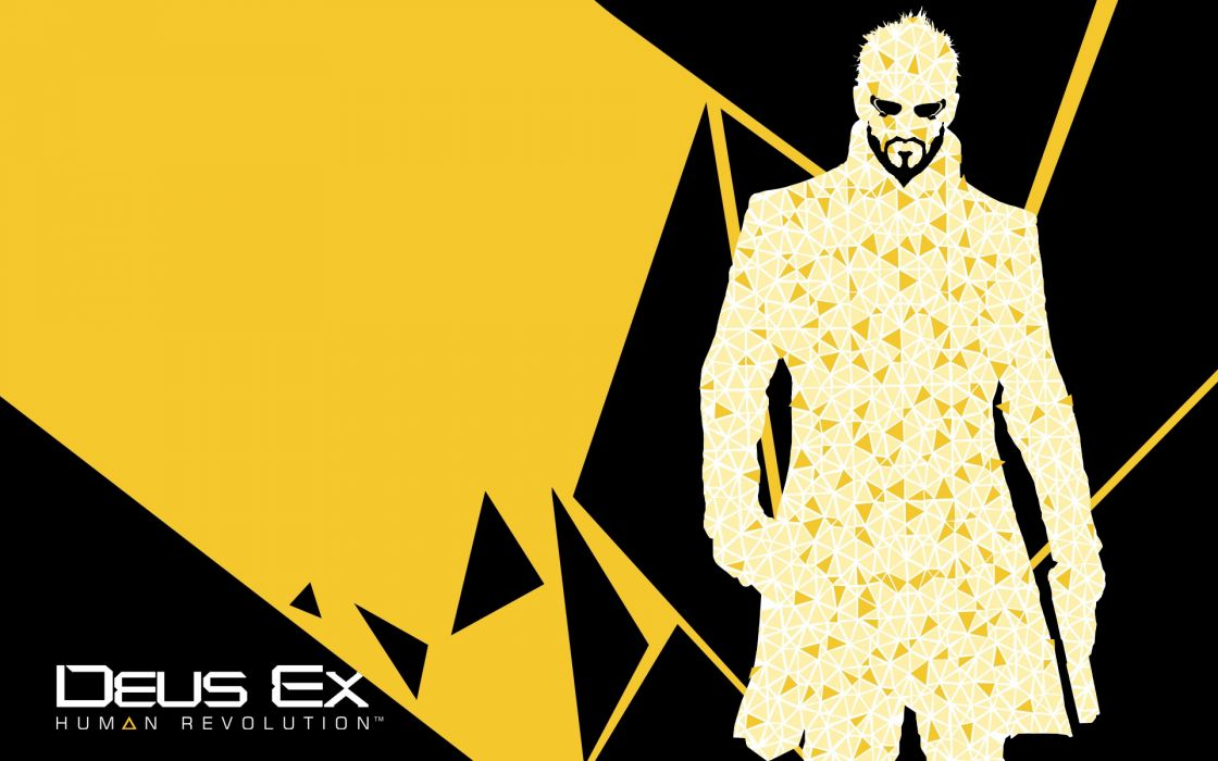 DEUS EX Human Revolution cyberpunk action role playing sci-fi futuristic (84) wallpaper