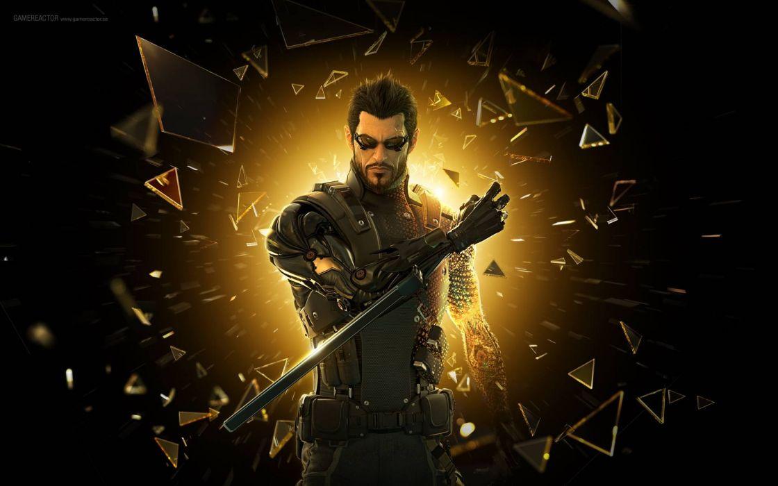 DEUS EX Human Revolution cyberpunk action role playing sci-fi futuristic (87) wallpaper