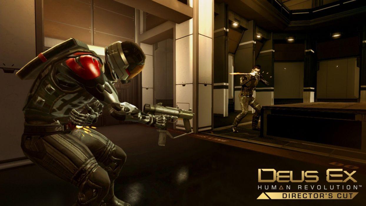 DEUS EX Human Revolution cyberpunk action role playing sci-fi futuristic (102) wallpaper