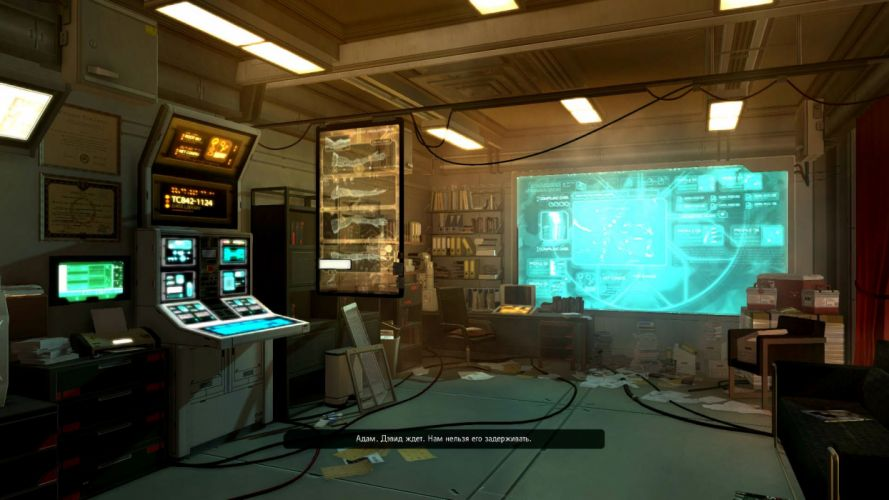 DEUS EX Human Revolution cyberpunk action role playing sci-fi futuristic (110) wallpaper