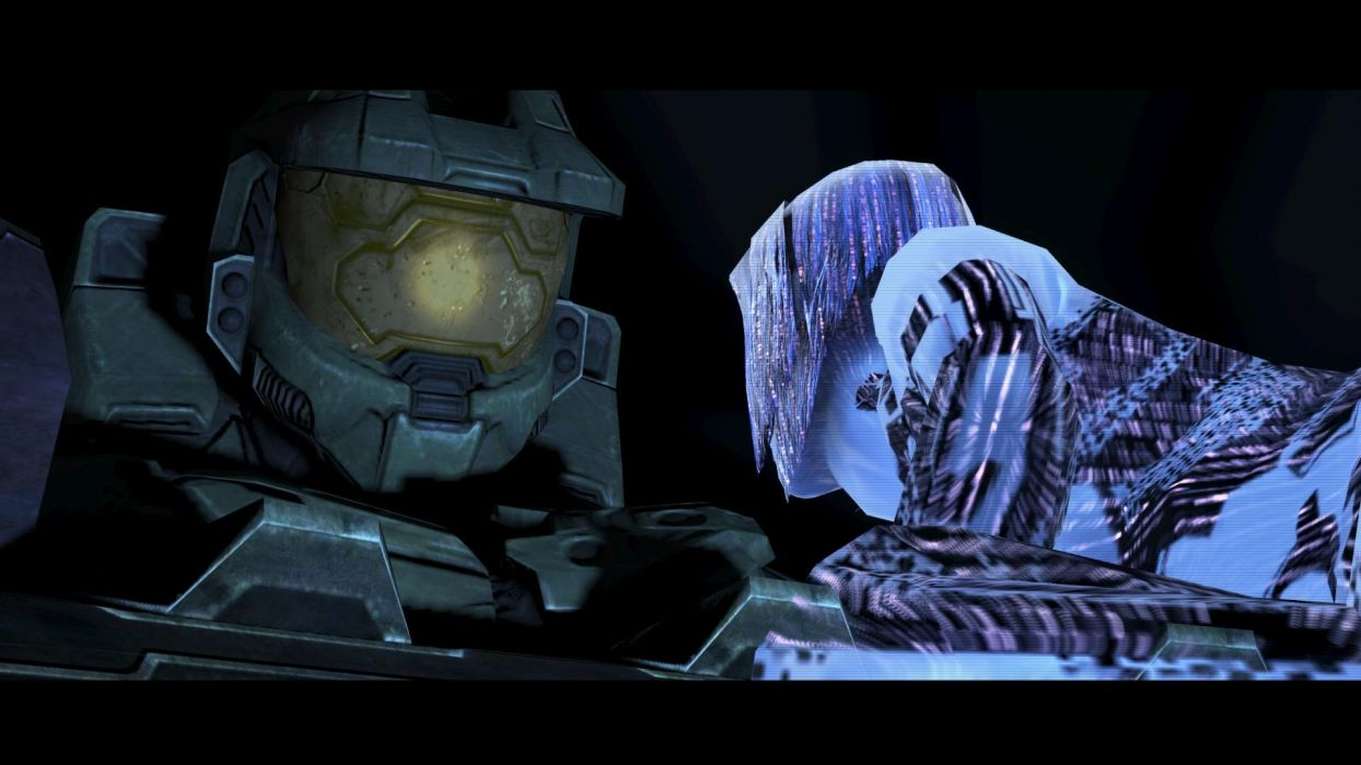 Cortana Halo Master Chief Screenshots Wallpaper 1920x1080