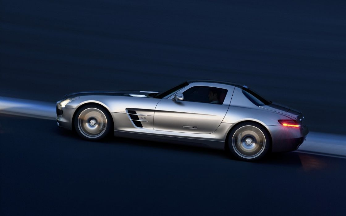 cars vehicles Mercedes-Benz SLS AMG E-Cell wallpaper