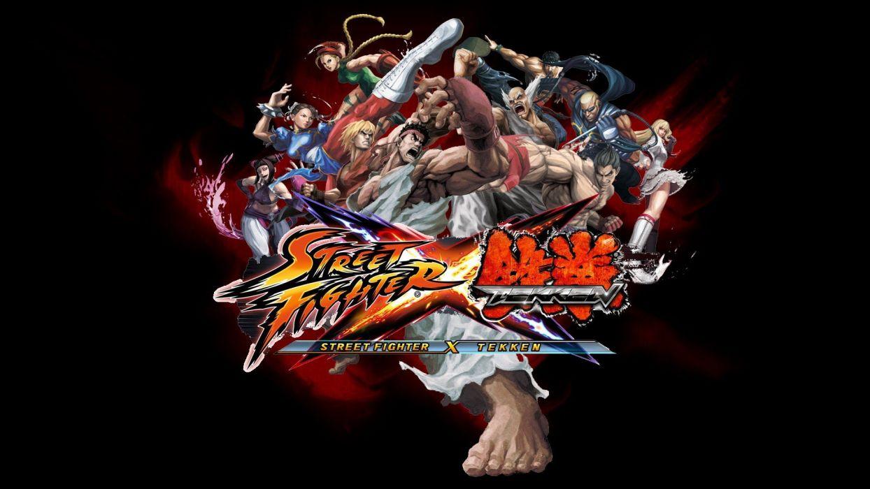 video games Tekken Street Fighter Street Fighter X Tekken wallpaper