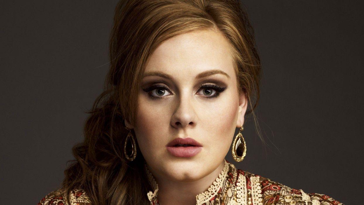 women celebrity singers Adele (singer) wallpaper