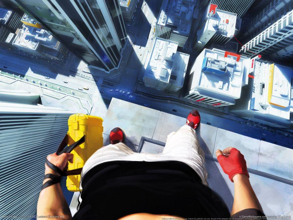 video games Mirrors Edge wallpaper