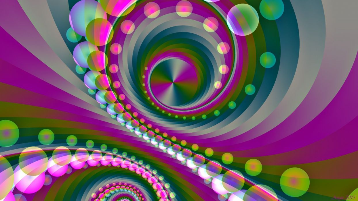 abstract multicolor patterns psychedelic digital art backgrounds colors wallpaper