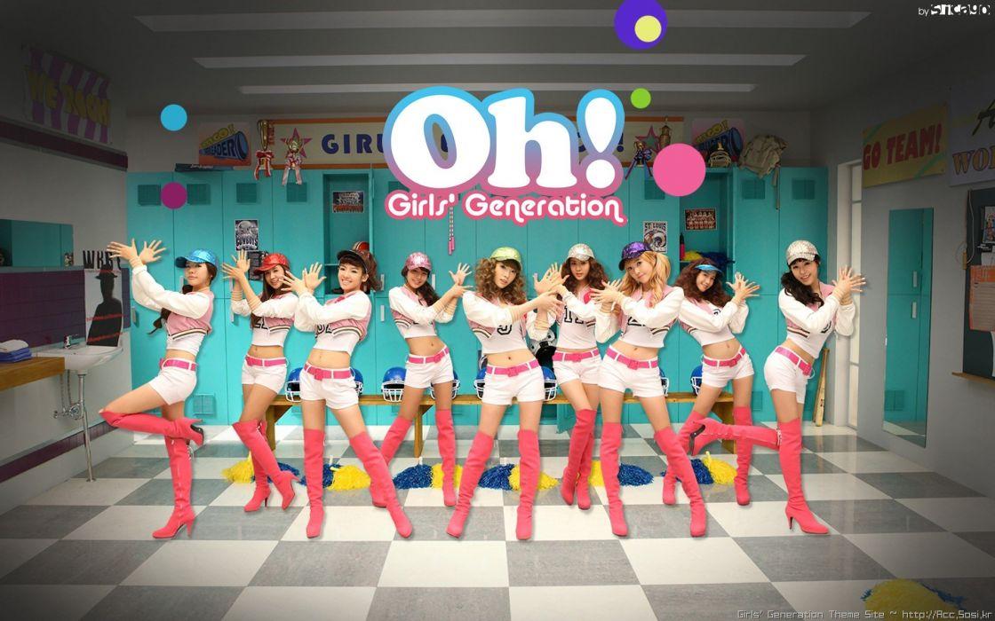women Girls Generation SNSD Asians Korean singers Kim Taeyeon Im YoonA Choi Sooyoung K-Pop wallpaper