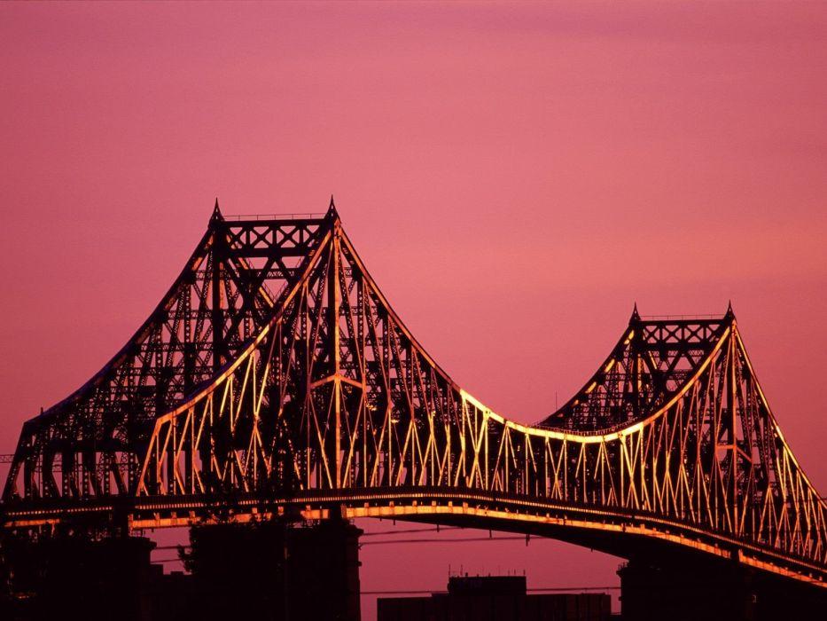 bridges Canada Montreal wallpaper