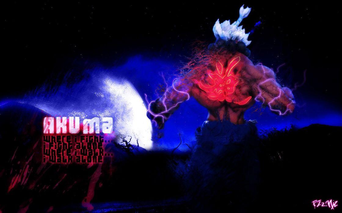 Street Fighter Akuma wallpaper
