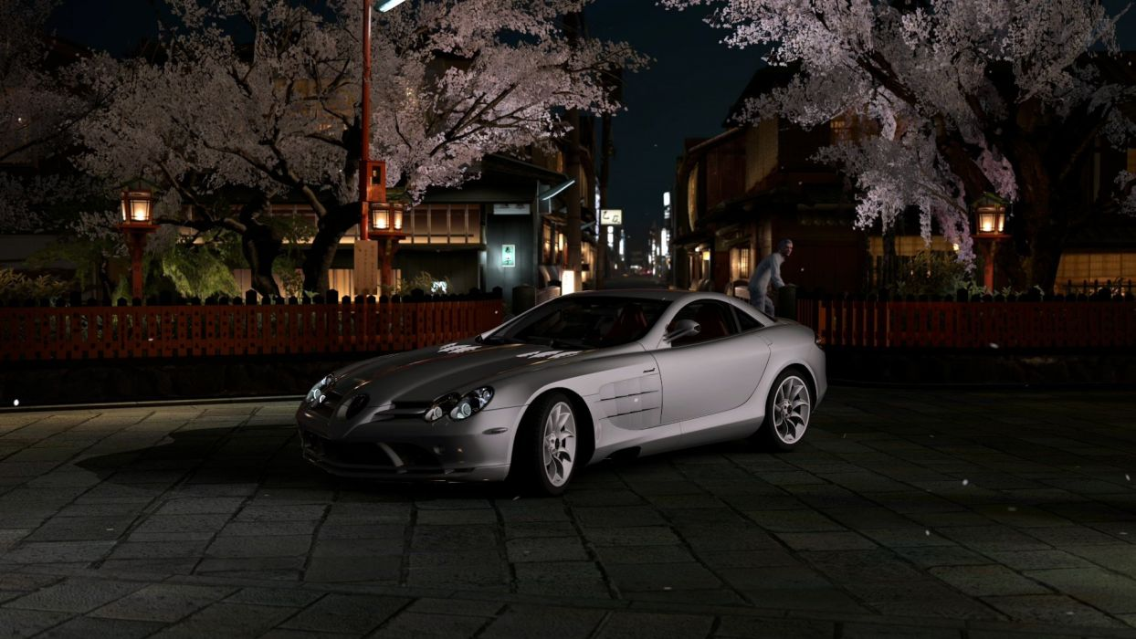 video games cars vehicles Gran Turismo 5 Playstation 3 Mercedes SLR wallpaper