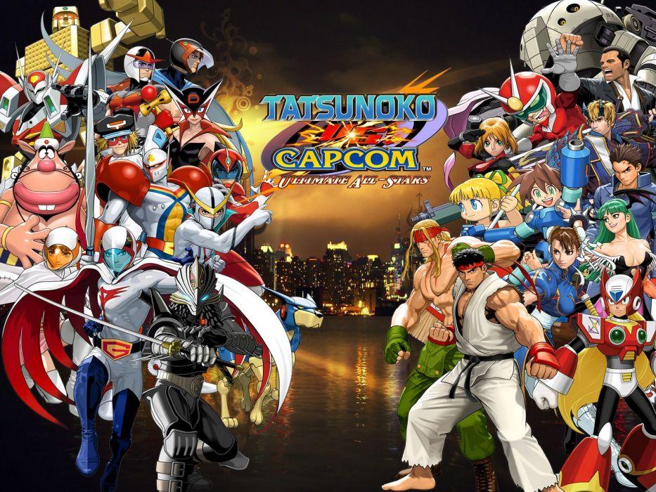video games Street Fighter Capcom wallpaper