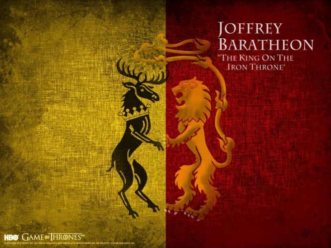 Game of Thrones TV series House Lannister House Baratheon wallpaper