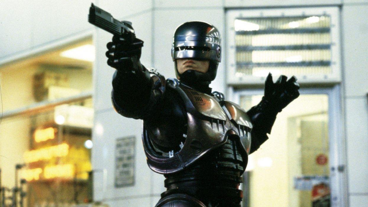 movies Robocop Peter Weller wallpaper