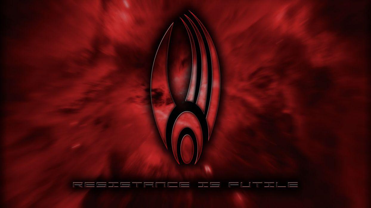 Star Trek Borg Star Trek logos wallpaper