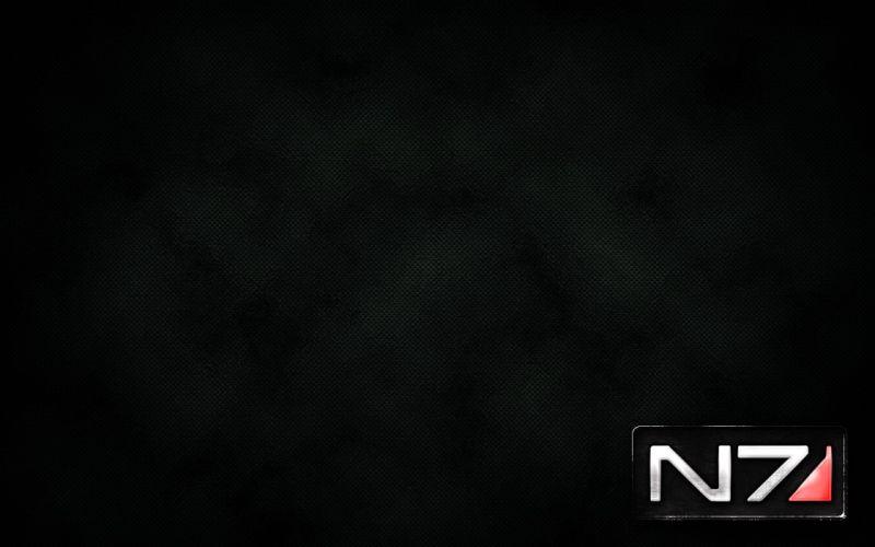 Mass Effect logos wallpaper