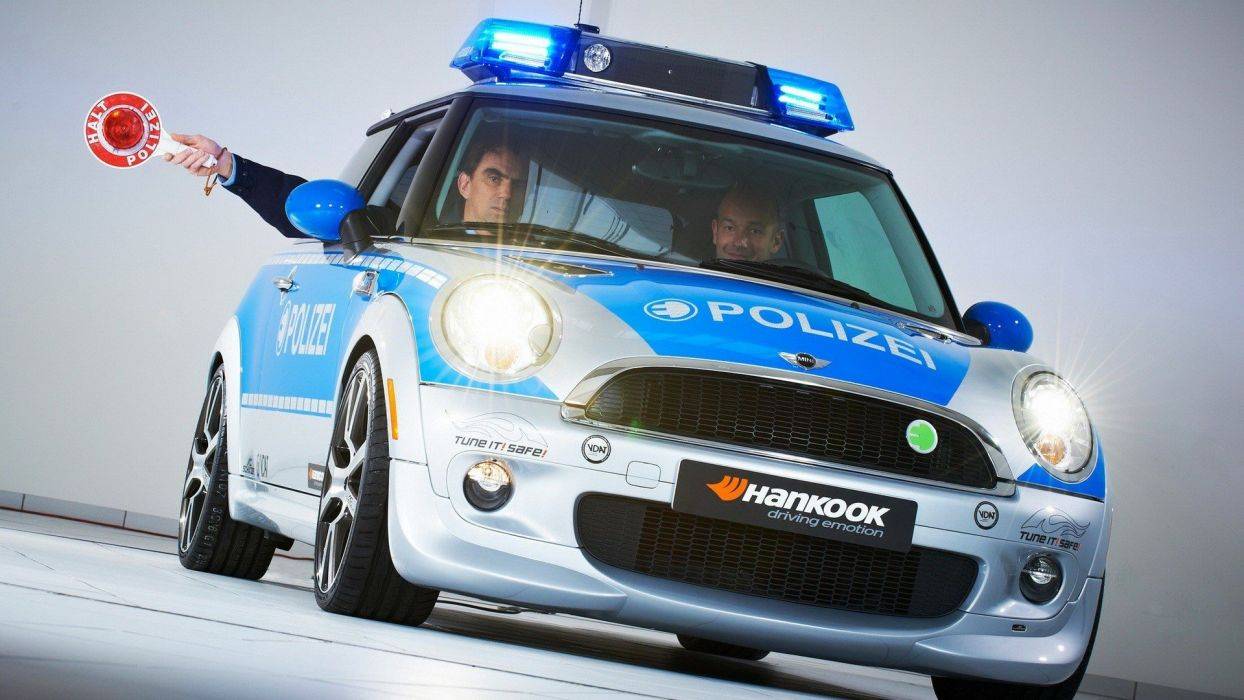 cars police German AC Schnitzer wallpaper