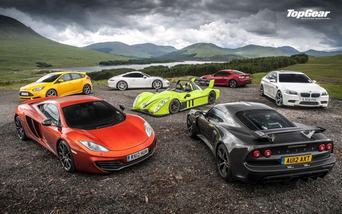 Cars Top Gear Mclaren Mp4 12c Lotus Exige Lotus Exige S Wallpaper