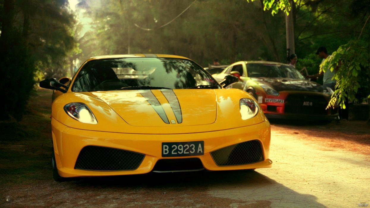 cars Ferrari F430 wallpaper