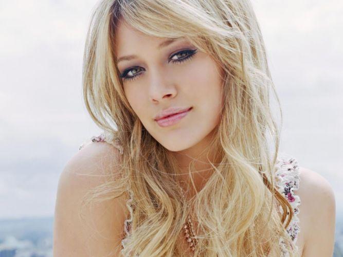 women Hilary Duff wallpaper