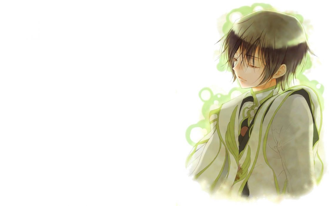 Code Geass Lamperouge Lelouch simple background wallpaper