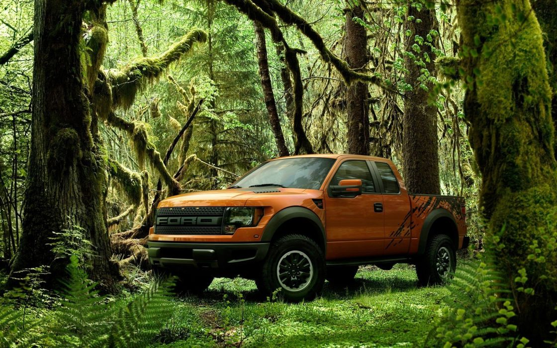 cars Ford Ford F150 SVT Raptor pickup trucks wallpaper
