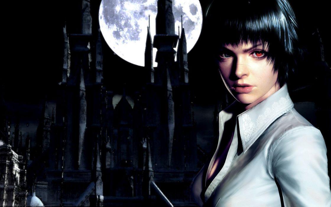 women video games castles Moon wallpaper