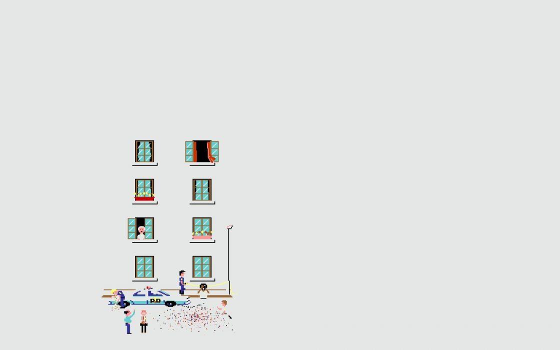 suicide pixel art wallpaper