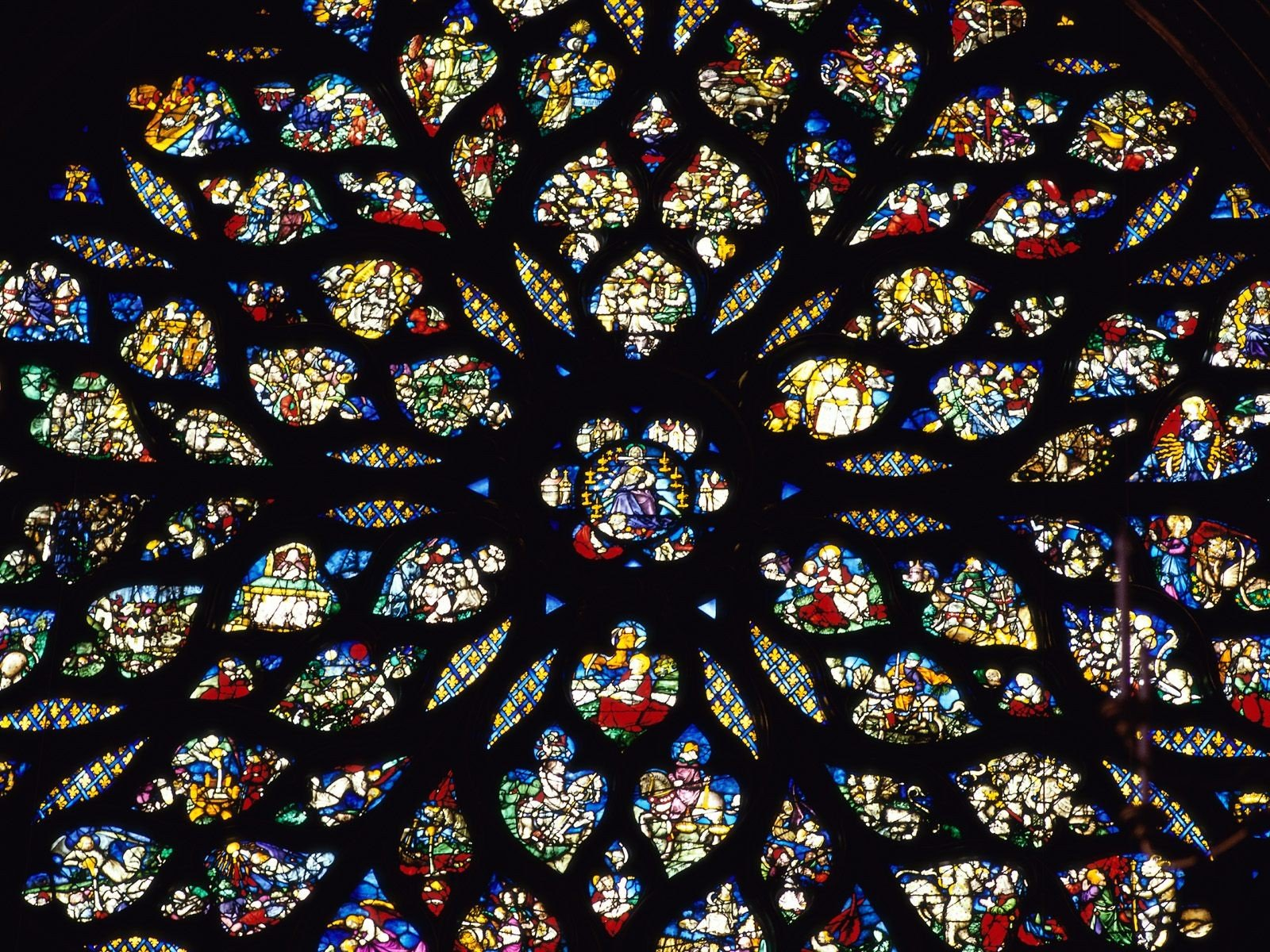 paris france stained glass rosary wallpaper | 1600x1200 | 243247