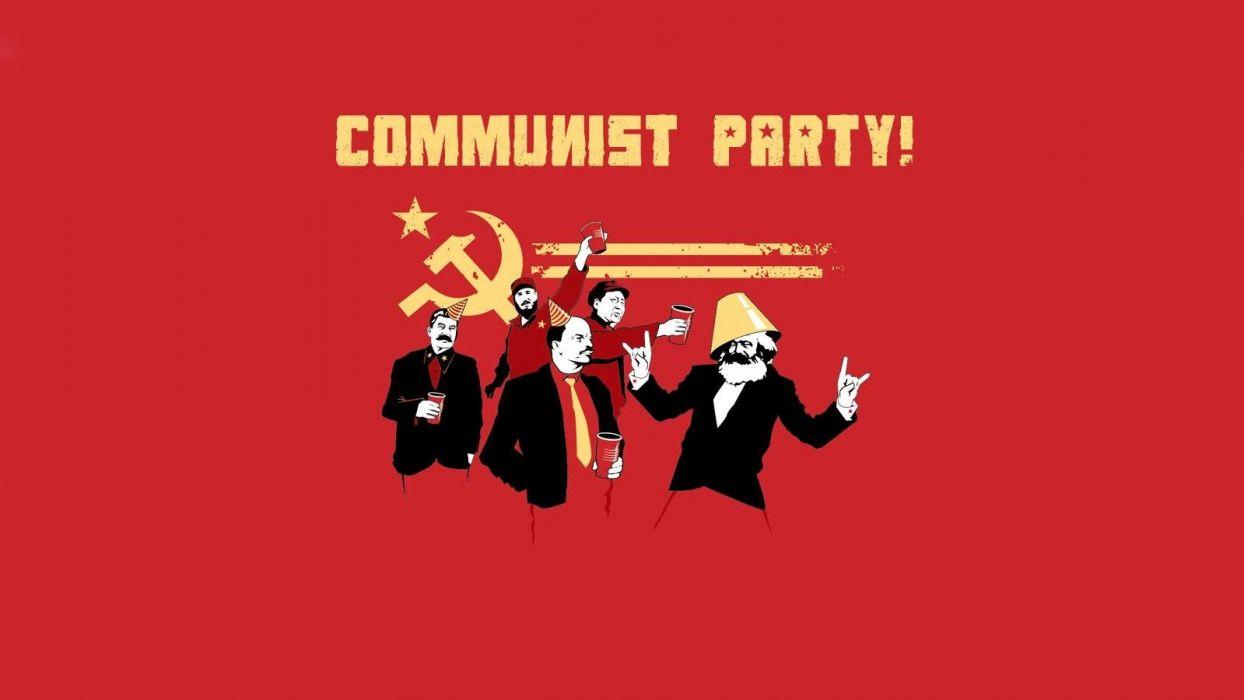 communism stalin Threadless Lenin Karl Marx Fidel Castro Mao Zedong wallpaper