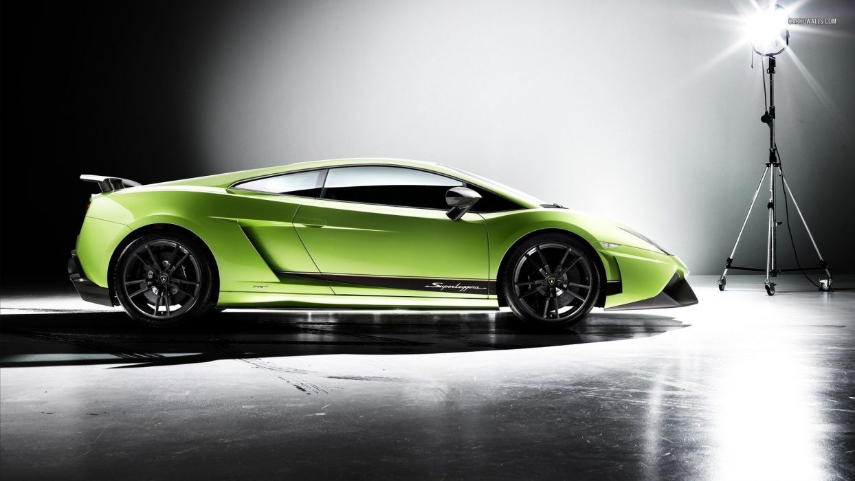 cars Lamborghini Lamborghini Gallardo Superleggera green cars Lamborghini Gallardo LP570-4 Superleggera italian cars wallpaper
