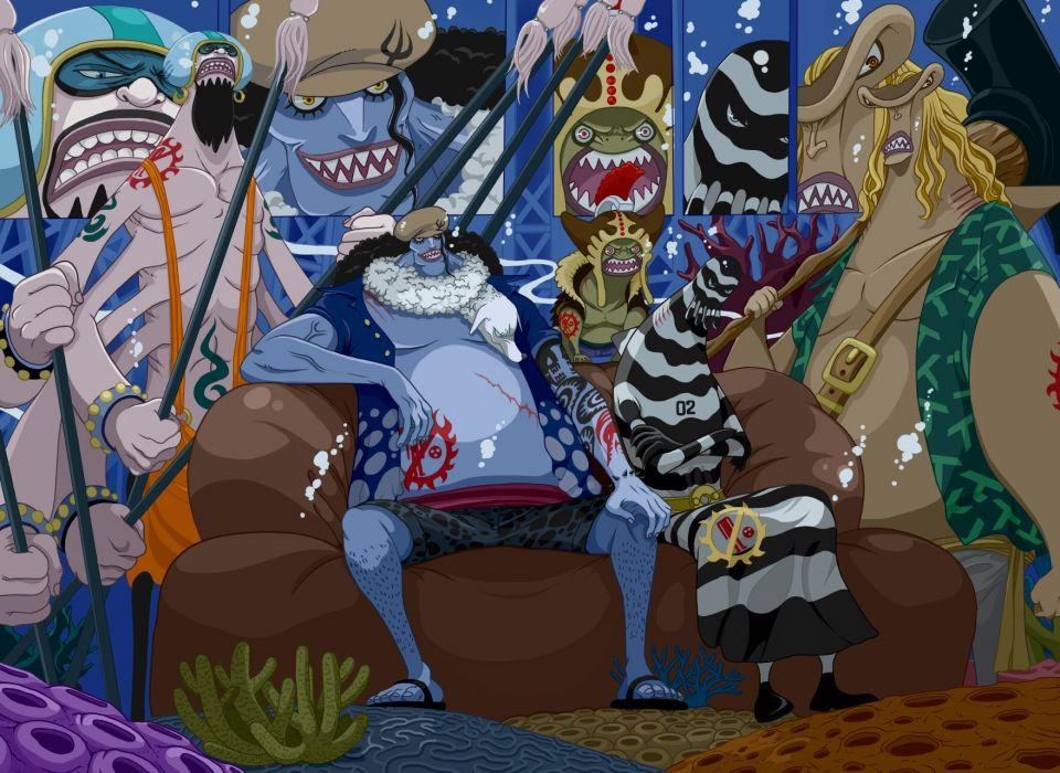 One Piece (anime) fishman wallpaper
