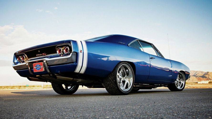 blue cars hole Charger Dodge Dodge Charger R/T widescreen wallpaper