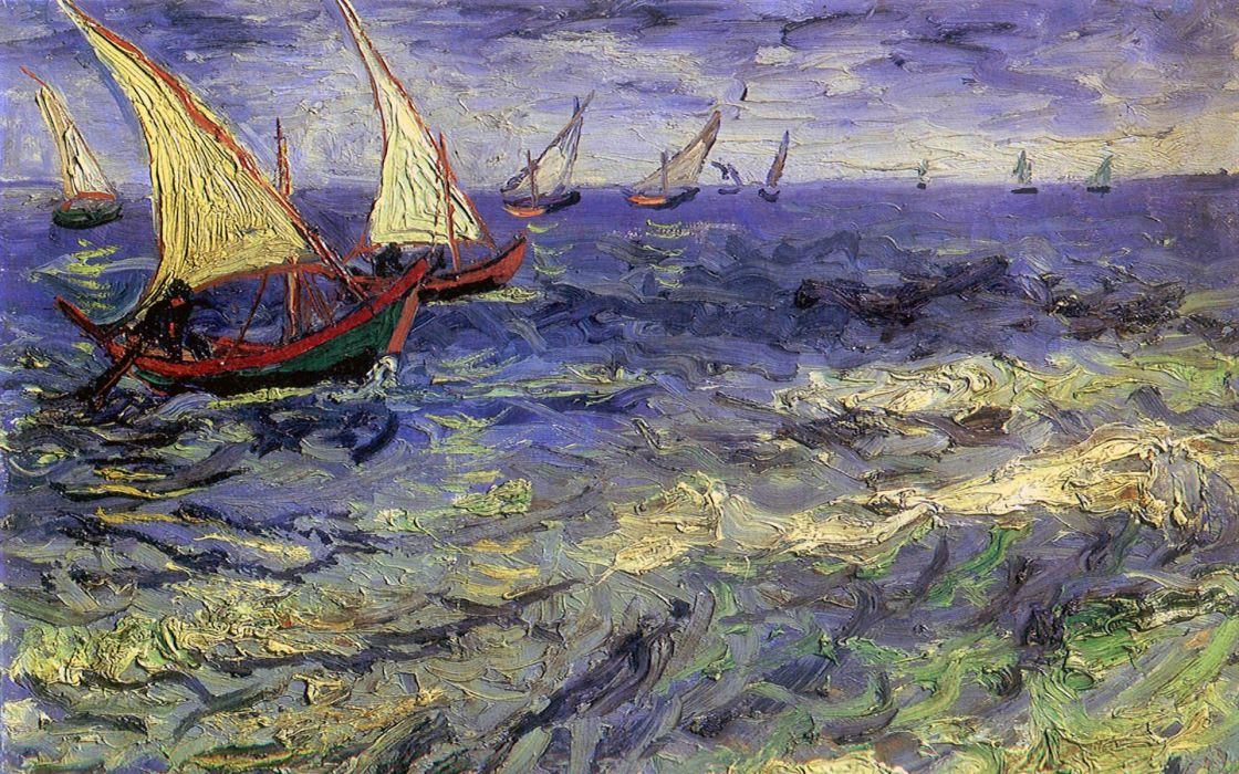 Vincent Van Gogh artwork wallpaper