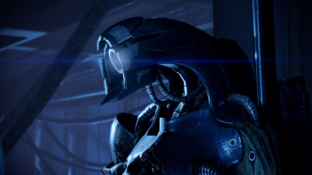 legion screenshots Mass Effect 2 wallpaper
