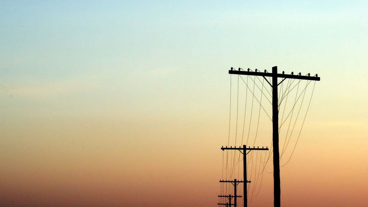 power lines wallpaper