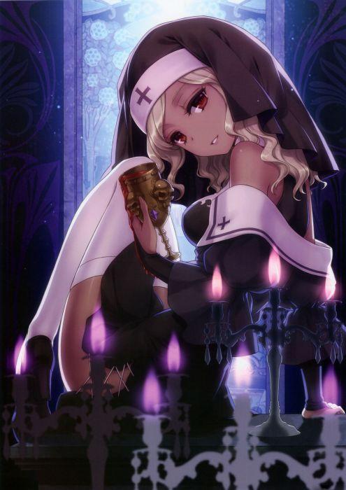 anime candles scans An2a wallpaper