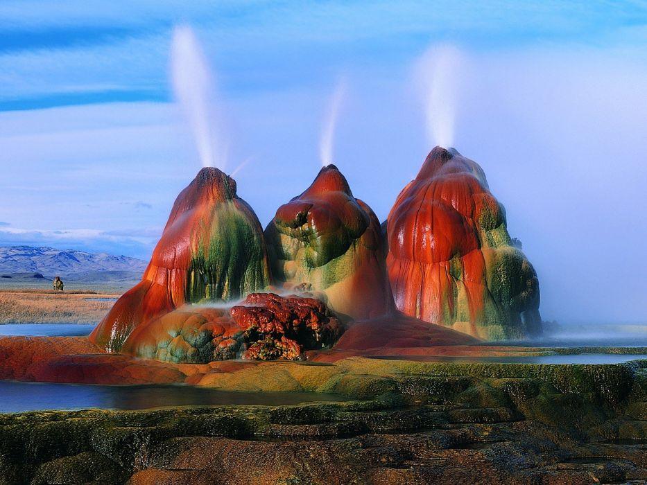 fly Nevada Black Rock desert wallpaper