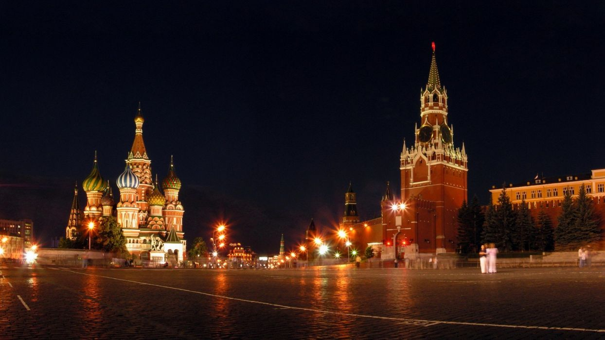 cityscapes architecture towns Moscow Kremlin cities wallpaper