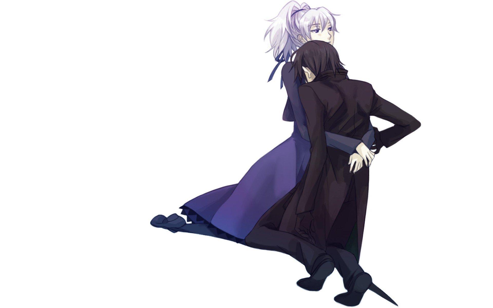 Darker Than Black Hei Yin Anime White Background Wallpaper